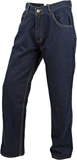 ScorpionExo Covert Jeans Men's Reinforced Motorcycle Pants (Blue, Size 38)