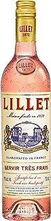 Lillet Rosé französischer Aperitif – Weinaperitif mit frischer Orange, exotischen Früchten und Vanille – Alkoholisches Getränk perfekt für Dinnerpartys oder schicke Anlässe geeignet – 1 x 0,75 L