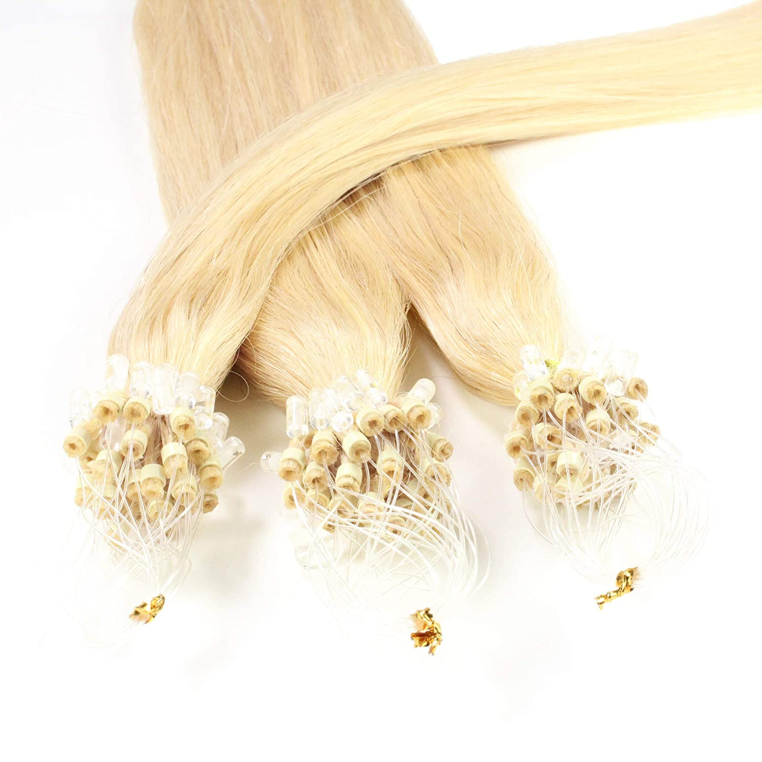 Hair2Heart 100 x 0.5g Outlet ☆ Free Shipping Microring Loop 16