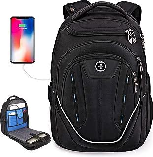 Large Durable TSA Friendly USB Charging Port Business Laptop Backpack for Men