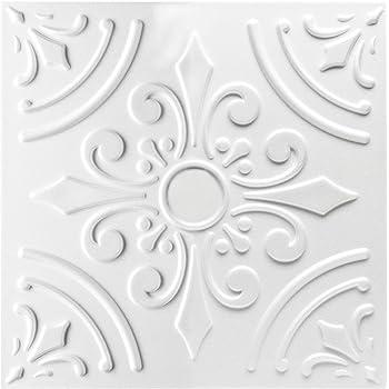30 mètres carrés de polystyrène plaques plaques Décor Plafond Les Dalles Stuc 50x50cm Nº 96