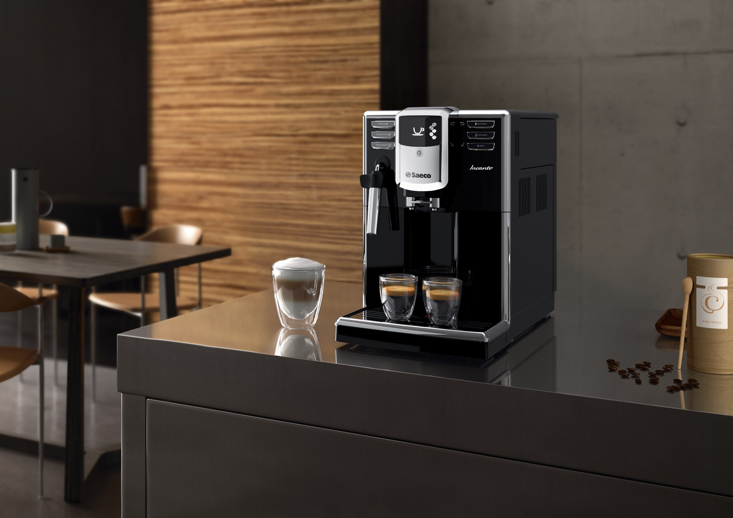Saeco Incanto Cafetera HD8911/01 - Máquina de café espresso ...