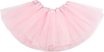Baby Tutu Skirt, Infant Tutus, 5 Layers Tulle Dress Up for Baby Girls & Toddlers