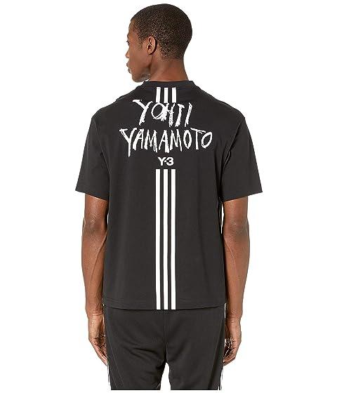 adidas Y-3 by Yohji Yamamoto Signature Graphic Short Sleeve Tee