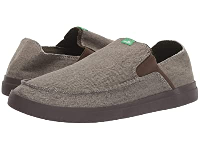 Sanuk Pick Pocket Slip-On Sneaker (Brindle) Men