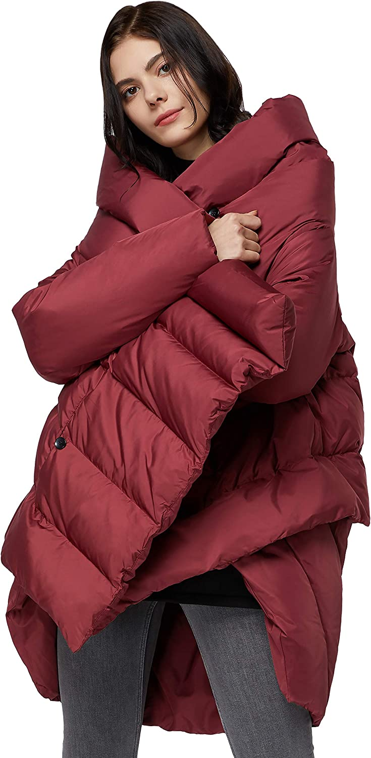 Orolay Women's Puffer Now on sale Down Cloak-Type Coat Indefinitely Jacket