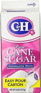 C&H Pure Cane, Granulated White Sugar, 4 lb