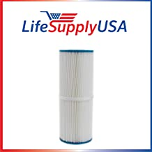LifeSupplyUSA Pool Spa Filter Compatible with Cartridge Pleatco PRB25-IN Replaces Unicel C-4326 Filbur FC-2375 Rainbow Dynamic 25