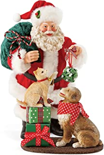 Department 56 Santa and his Pets Mistletoe and Holly, 10