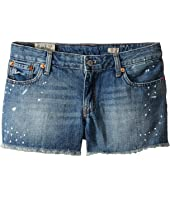 Polo Ralph Lauren Kids - Paint Splat Shorts in Jess Wash (Big Kids)