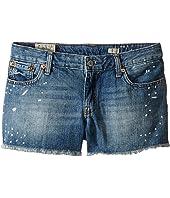 Polo Ralph Lauren Kids - Paint Splat Shorts in Jess Wash (Big Kids)