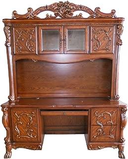 ACME Dresden Bookcase, Cherry Oak Finish