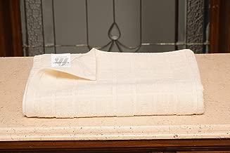 Avira Home Quick Dry Cotton Bath Towel 410 GSM (Cream)