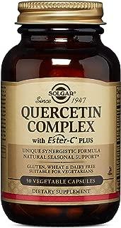 Solgar – Quercetin Complex with Ester-C Plus, 50 Vegetable Capsules