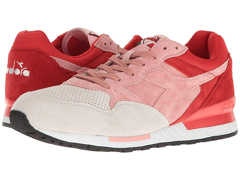 Diadora Intrepid Premium (Blossom/Fiery Red) Athletic Shoes