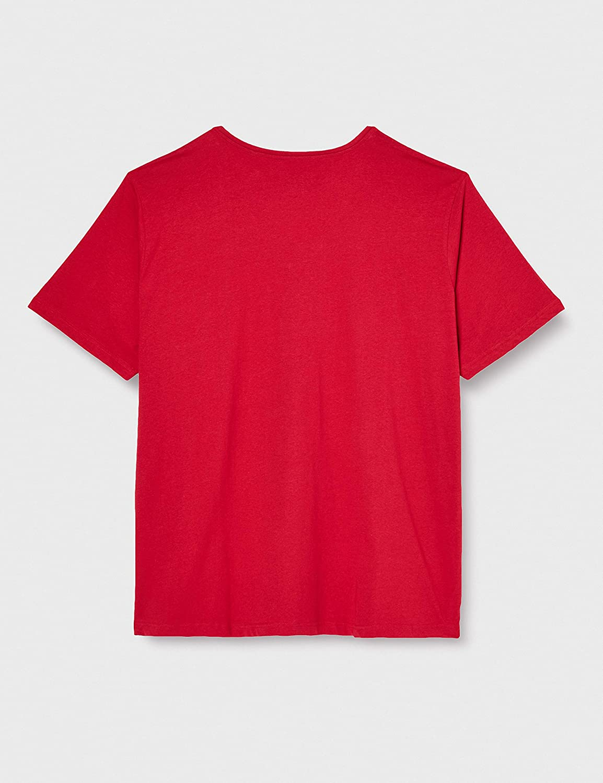 Ulla Popken Damen T-Shirt V-Ausschnitt