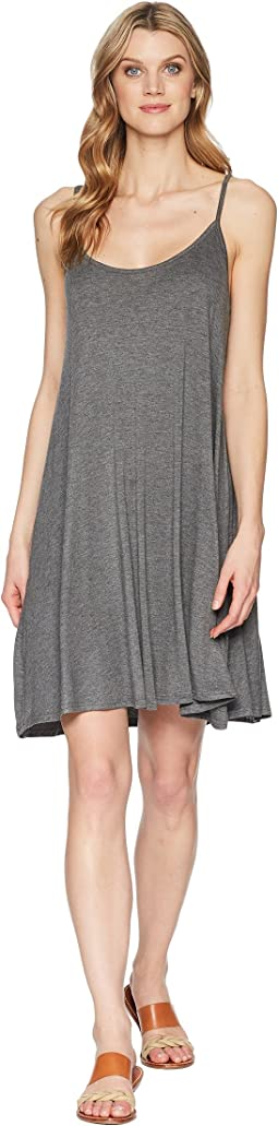 1586 Rayon Spandex Jersey Slip Dress