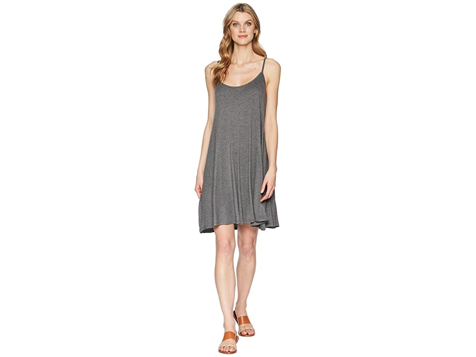 Stetson 1586 Rayon Spandex Jersey Slip Dress (Grey) Women