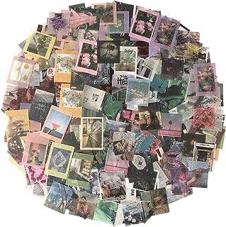 WJGJ 600 pièces Washi Ensemble d'autocollants, pour journal, scrapbooking agenda album carnet fabrication de cartes ordina...