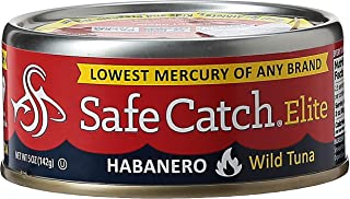 Safe Catch Elite Habanero Mint Wild Tuna, 6 x  142 gm