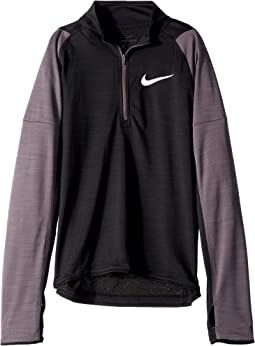 Dri-FIT™ Long Sleeve 1/2 Zip Top (Little Kids/Big Kids)