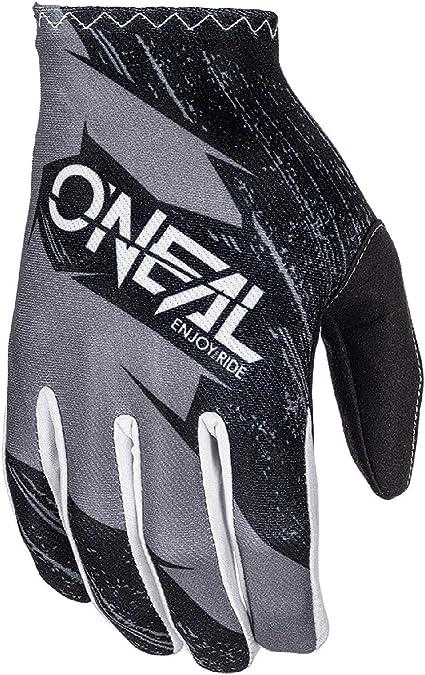 O Neal Fahrrad Motocross Handschuhe Kinder Mx Mtb Dh Fr Downhill Freeride Langlebige Flexible Materialien Belüftete Handoberseite Matrix Youth Glove Burnout Sport Freizeit