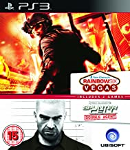 Ubisoft Double Pack - Rainbow Six Vegas and Splinter Cell Agent (PS3)