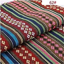 DIY Etnische stijl katoen linnen stof textiel patchwork sofa cover kussenshotel bar tafelkleed gordijn decoratieve ambacht...