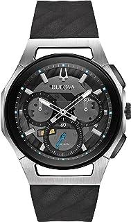 Bulova - Reloj Cronógrafo para Hombre de Cuarzo con Correa en Caucho 98A161