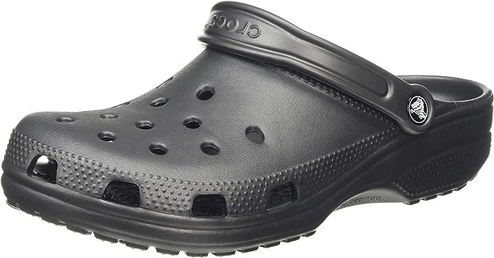 Crocs classic u, clogs unisex-adulto 10001-001