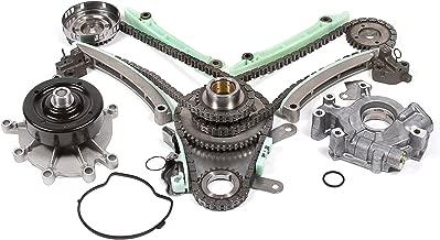 Evergreen TK5047LWOP Fits 03-08 Jeep Dodge Mitsubishi 4.7L Timing Chain Kit Oil Pump Water Pump (NGC Cam Gear)