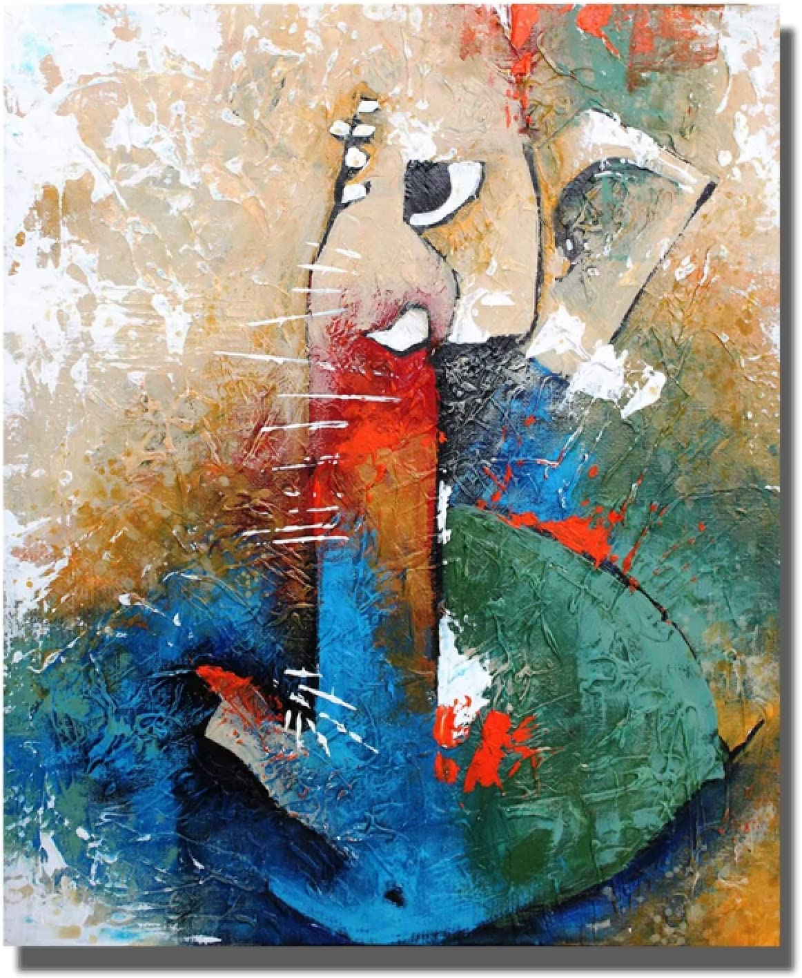Ganesha Remover of All Obstacles Painting Max 52% OFF Latest item Room Canvas for Living