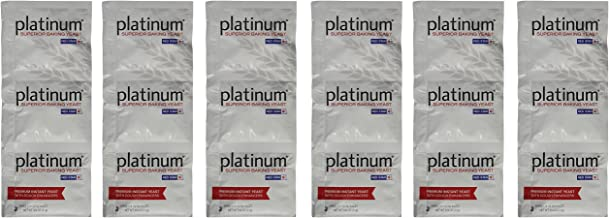 Platinum Superior Baking Yeast, 0.25 ounces each (Set of 18)