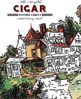 The Art of the Cigar: Vintage Labels Coloring Book