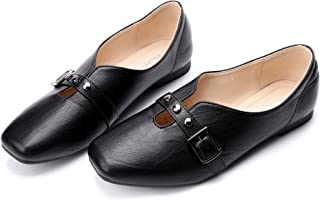 CINAK Flats for Women Comfort- Slip On Loafers Light Casual Walking Ballet Shoes