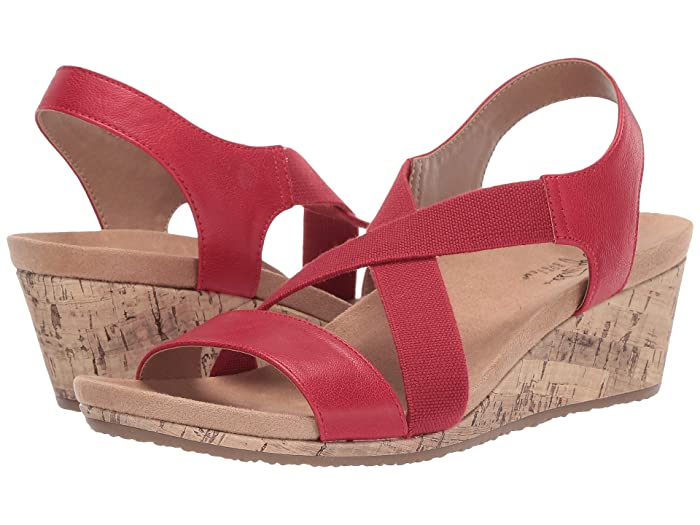 1940s Style Shoes, 40s Shoes LifeStride Mexico Red Womens  Shoes $59.94 AT vintagedancer.com