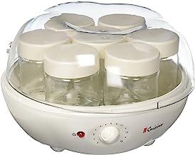 Máquina de Iogurte AUTOMÁTICA com 7 copos de vidro de 18ml - Prática e fácil de usar com timer