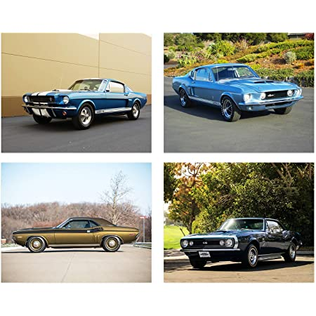 AMERICAN MUSCLE POSTER Amazing Car Collage NEW 24X36
