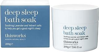 これは、深い眠り浴が200グラムを浸す働きます (This Works) (x2) - This Works Deep Sleep Bath Soak 200g (Pack of 2) [並行輸入品]