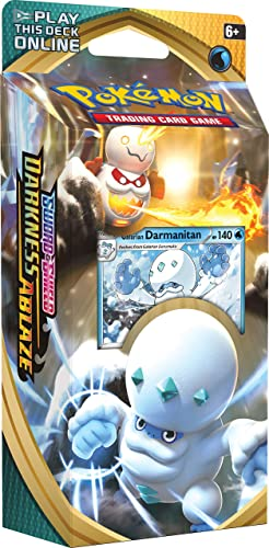 new arrival Pokémon new arrival TCG: Sword & Shield Darkness Ablaze Theme Deck Featuring online sale Galarian Darmanitan online