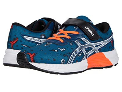 ASICS Kids Pre Excite 7 (Toddler/Little Kid) (Mako Blue/White) Boy