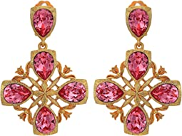 Runway Regal Drop C Earrings