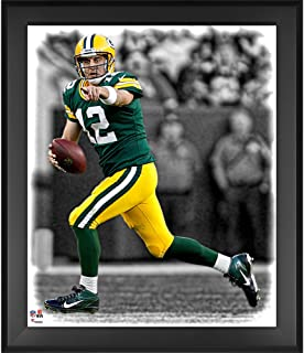 Aaron Rodgers Green Bay Packers Framed 20
