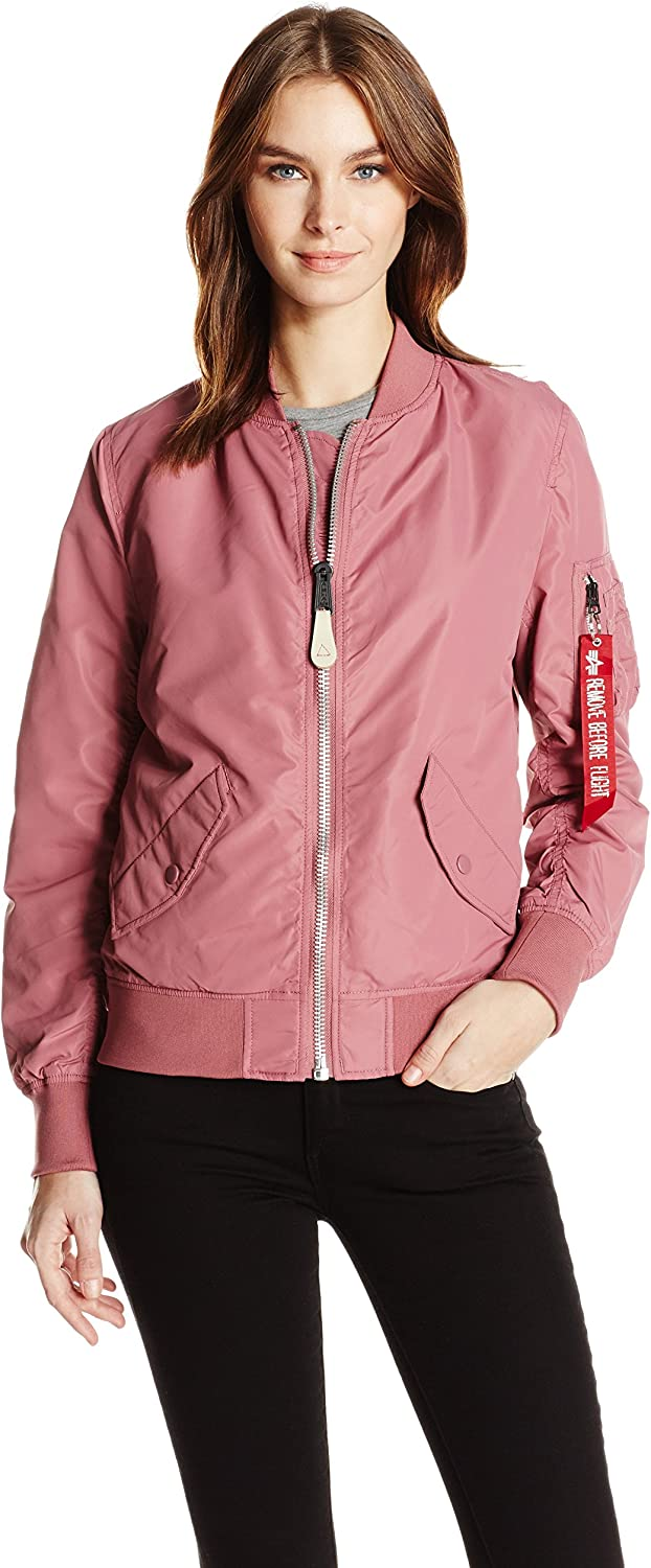 Alpha Industries Womens L2b Scout W Bomber Jacket Jacket