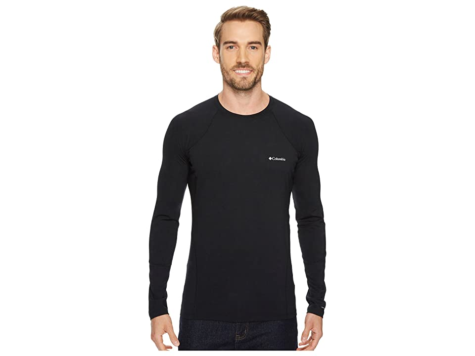 Columbia Midweight Stretch Long Sleeve Top (Black) Men