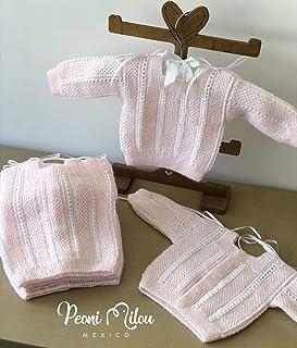 Chambrita rosa de bebé/regalo recién nacido/ropita de bebé/babyshower/bautizo/niño/niña