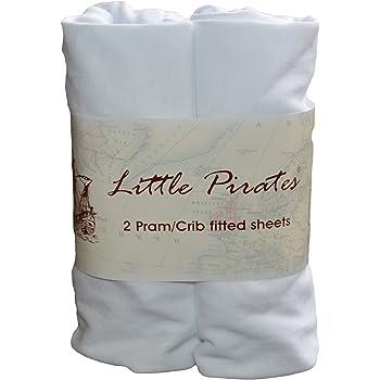 2x neonato Jersey CULLA Lenzuolo 100/% COTONE 40 x 90 cm bianco