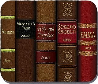 Jane Austen Mouse Pad - Mousepad - Jane Austen Books - Neurons Not Included