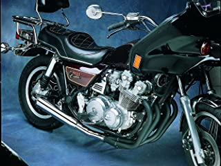 MAC 4into1 Black/Chrome Canister Exhaust - Compatible with Honda CB750/900/1000/1100 79-83