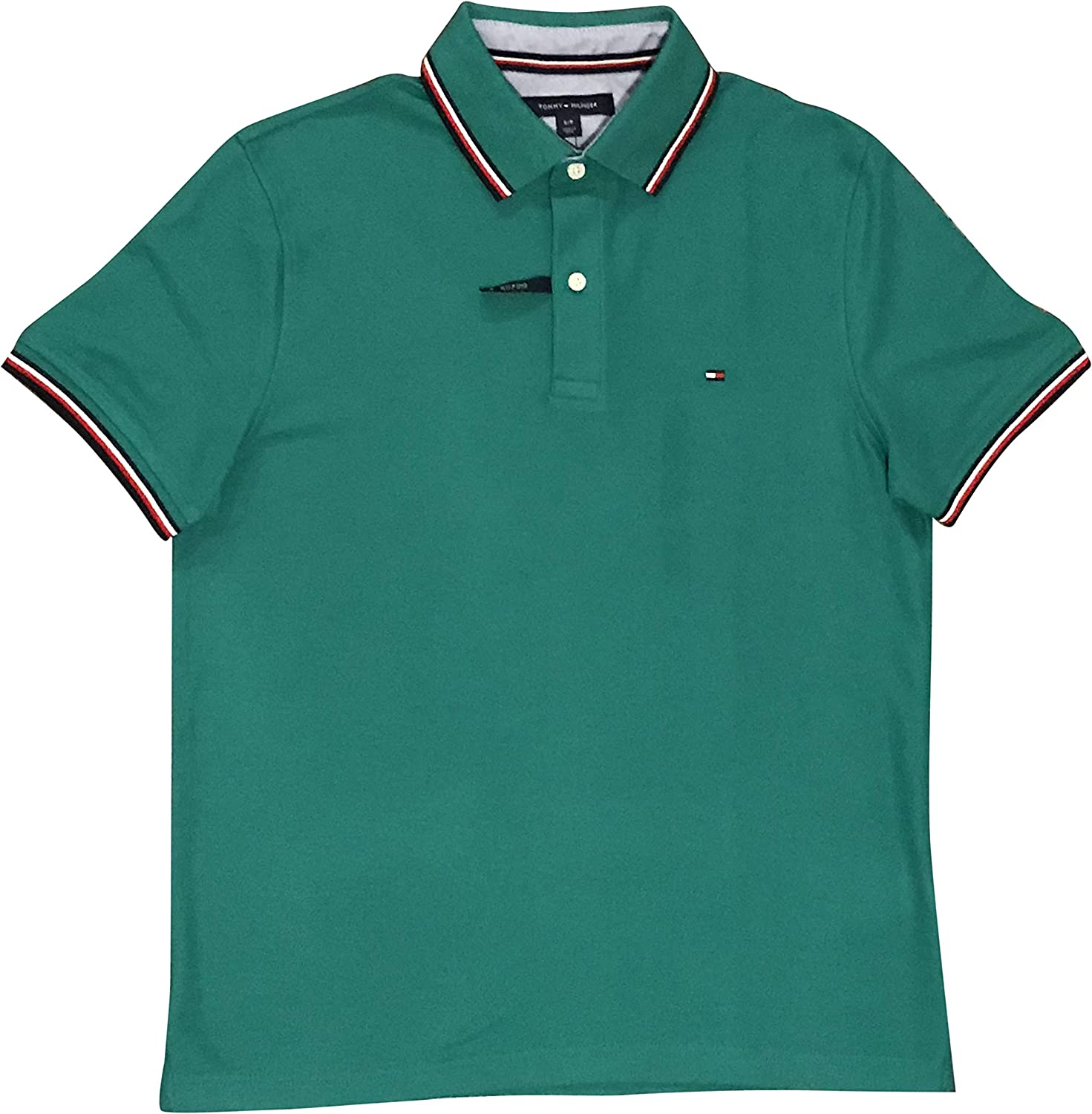 Tommy Hilfiger Men's Las Vegas Mall Collar Polo Striped A surprise price is realized